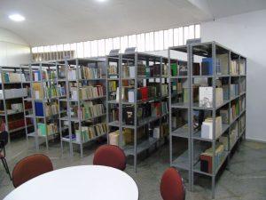 Biblioteca Affonso Heliodoro dos Santos (Foto: Fernando Dias)