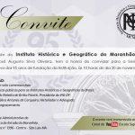 SESSÃO MAGNA COMEMORATIVA DOS 95 ANOS DE FUNDAÇÃO DO INSTITUTO HISTÓRICO E GEOGRÁFICO DO MARANHÃO
