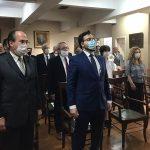 SECRETÁRIO-GERAL TOMA POSSE NO INSTITUTO HISTÓRICO E GEOGRÁFICO DE SÃO PAULO